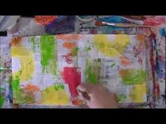 Art Journal Words Mixed Media - YouTube