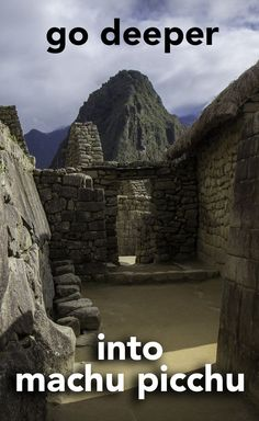Go beyond the postcard shots and see more of Machu Picchu - the most famous sight in Peru.