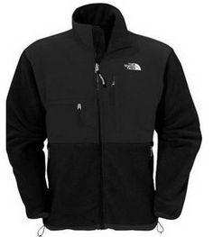 Cheap northface fleeces denali jacket Men TNF Black north face coats sale, discount north face coats clearance