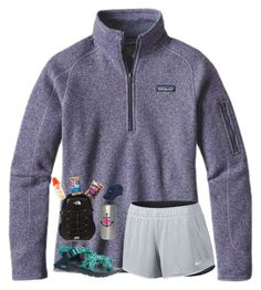 """""""Hiking pt.2!!"""" by preppy-southerngirl ❤ liked on Polyvore featuring Patagonia, NIKE, Chaco, The North Face and Vineyard Vines"""