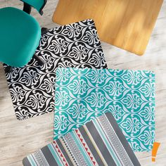 how to make your own office chair mat how to pinterest office