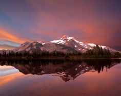 Mountain Photograph  Landscape Photo Nature Print Wilderness Oregon Cascades Mt Jefferson Sunrise nat17 by DeepLightPhotography on Etsy https://www.etsy.com/listing/30608609/mountain-photograph-landscape-photo