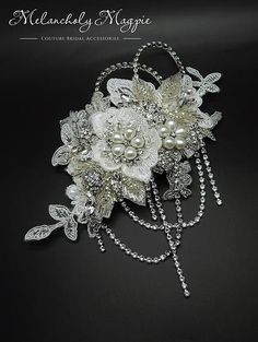 Melancholy Magpie Couture Bridal Accessories | Provocative Angel Collection