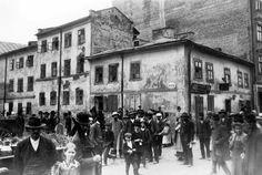 Plac św. Teodora - Lwów na starych zdjęciach