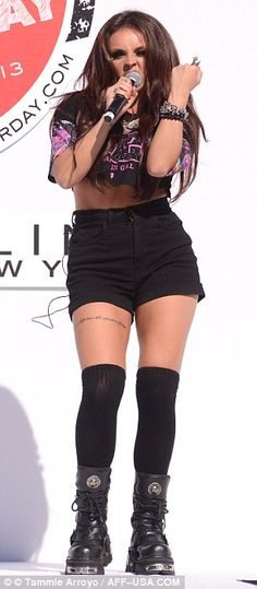 Jesy Nelson wow she´s become so skinny cause media said she was too big =O