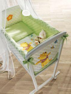 Composiciones para cuarto de bebés Winnie the Pooh y camas ...
