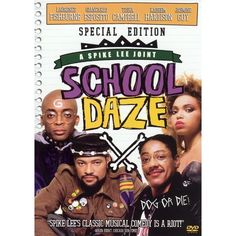 School Daze Poster A not so popular young man wants to pledge to a popular fraternity at his historically black college. Director: Spike Lee Writer: Spike Lee Stars: Laurence Fishburne, Giancarlo Esposito and Tisha Campbell-Martin See Movie, Movie Tv, 90s Movies, Movie Club, Watch Movies, Movies Showing, Movies And Tv Shows, Series Movies, Spike Lee Movies