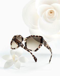 Prada hexagonal é tendência ♥♥  love  prada  sunglasses  solar  modasolar 5685ef4b1e