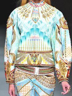 S/S 2013 MANISH ARORA Print and Pattern Close Up