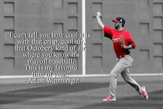 Waino lives for October.