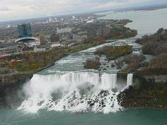 Niagara Falls, NY (American  and  Bridal Veil Falls)