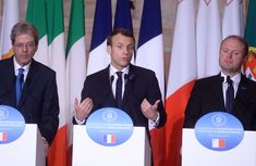 Macron Uses Rome Summit to Advance His Integration Agenda.(January 11th 2018)