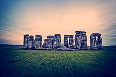 Colorful Stonehenge