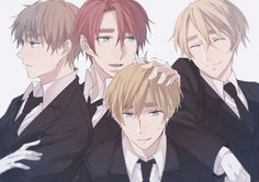 The Kirkland Brothers - Ireland, Scotland, England & Whales - Hetalia