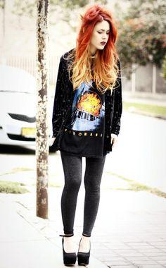 Fashion Flashback: How To Rock Grunge - Fashion Flashback Rock - 39 90s Grunge, Mode Grunge, 90s Fashion Grunge, Grunge Look, Grunge Outfits, Grunge Style, Hipster Style, Hipster Outfits, 90s Girl Fashion