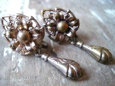 Vintage Victorian Revival brass screw back by MysteryMisterAntique