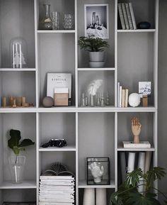 Wir sind begeistert von @AnnaKubel #IKEAhack. Einfach zwei #VALJE grau streichen und übereinanderstellen = komplett neuer Look! #Regram #meinIKEA