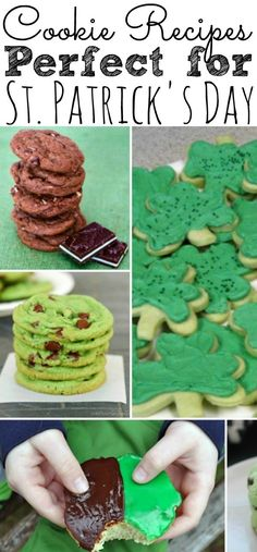 Looking for some delicious St. Patrick's Day recipes? Check out this list of 25 Cookie Recipe perfect for St. Patrick's Day! - simplytodaylife.com #stpatricksday #cookierecipes #recipesforstpatricksday St Patrick's Day Cookies, Cookies For Kids, Irish Traditions, St Patricks Day Food, Holiday Candy, Delicious Cookie Recipes, Irish Recipes, Recipe For Mom, Food Gifts