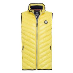 Quilted Vest Awash Very high quality and lightweight fashionable quilted vest. Perfect for sporty looks in the colder months of the year.