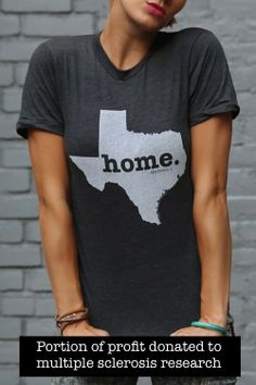 I'm definitely getting this T-shirt!  The Home. T - Texas Home T, $28.00 (http://www.thehomet.com/texas-home-t/)
