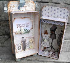 cabinet as birthday card / box