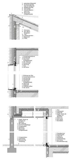 Projekt: Fassadenschnitt