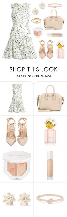"""Valley Girl"" by tasha-m-e ❤ liked on Polyvore featuring Giambattista Valli, Givenchy, Valentino, Marc Jacobs, Puma, Bounkit, Kate Spade and Agapantha"