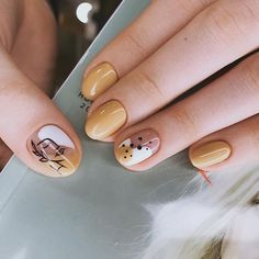 145 spectacular nail art designs ideas for prom to try right now Nail Art Designs, Simple Nail Designs, Minimalist Nails, Cute Nails, Pretty Nails, Pretty Makeup, Hair And Nails, My Nails, Modern Nails