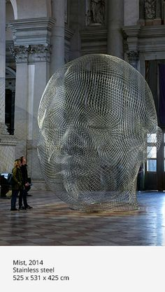 TOGETHER featured in Collateral Event of the International Venice Biennale by Jaume Plensa in 2015 Sculpture Metal, Modern Sculpture, Human Sculpture, Modern Art, Contemporary Art, Expositions, Art Moderne, Wire Art, Public Art