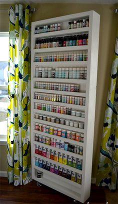 Acrylic Craft Pant storage shelf