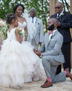Black Wedding Moment Of The Day: This Groom's Dedication To His Step Daughter Will Warm Your Heart Wedding Bride, Dream Wedding, Wedding Dresses, Wedding Reception, The Mane Choice, Hair Growth Oil, Wedding Tattoos, Wedding Photography Poses, Wedding Moments