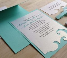 Wedding Invitations @Kacie Biebas this site has some neat ones