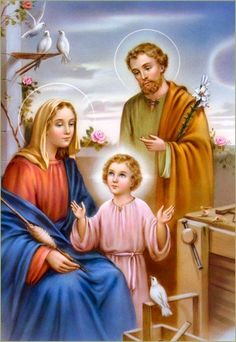 Image result for the holy family of jesus mary and joseph