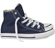 Blauwe Converse kinderschoenen All Star Hi gympen