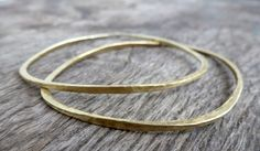 Items similar to Lina // Plain Brass Bracelet on Etsy Bangles, Bracelets, Messing, Brass, Etsy, Austria, Jewelry, Bangle Bracelet, Handmade