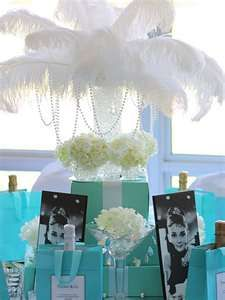 tablescape with tiffanys theme