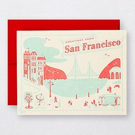 greetings from san francisco. unionstreetpapery / SAN FRANCISCO ITEMS