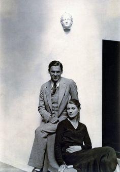 Lee Miller with brother Erik, photo by George Hoyningen-Huene, Paris, 1930
