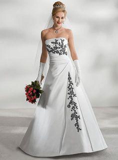 Abiti da sposa particolari e colorati