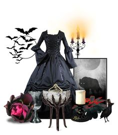 """Halloween!"" by janie-xox ❤ liked on Polyvore"