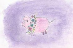 Chalk pig