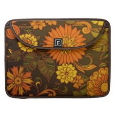Daisy Retro Floral Design iMac Sleeves Sleeves For MacBook Pro #zazzle