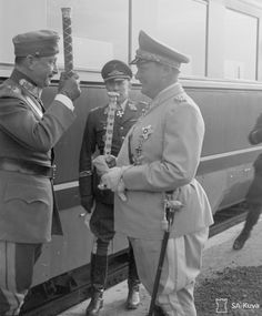 Question Name the two men who met.(Goering and Mannerheim) Bad Picture, The Third Reich, Two Men, Luftwaffe, World War Two, Wwii, Cool Pictures, Two By Two, History