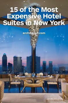 Penthouse, Four Seasons Hotel, New York, par Peter Marino New York Penthouse, Duplex New York, Hotel New York, Manhattan Penthouse, Penthouse Suite, Luxury Penthouse, Luxury Hotel Rooms, Hotel Bedrooms, Manhattan Hotels