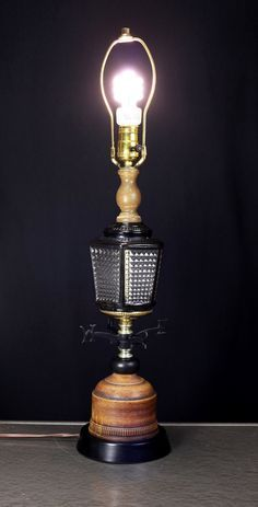mid century ceramic and vintage lamps with patina finish - Google Search