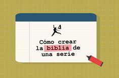 Podcast sobre cómo crear la biblia de una serie televisiva.