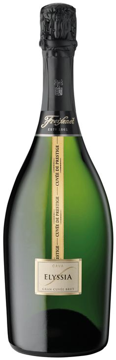 """Elyssia Gran Cuvée"" Chardonnay / Macabeo / Parellada / Pinot Noir NV espumoso Brut - Freixenet, Sant Sadurní d'Anoia, Cataluña--------------Terroir: Cava DO - Cataluña---------------Método Champenoise"