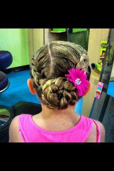 Dance Recital Hair Style