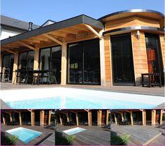 47 super images de Terrasse mobile de piscine | Gardens, Petite ...