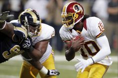 WAS v STL 09-16-12 ~ RG III running the ball